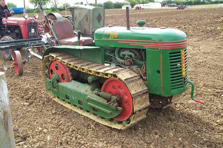 Fc D Fc E Db Cf Antique Tractors Old Tractors
