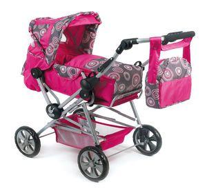 """Kombi Puppenwagen """"ROAD STAR"""", Pink Pearls"""