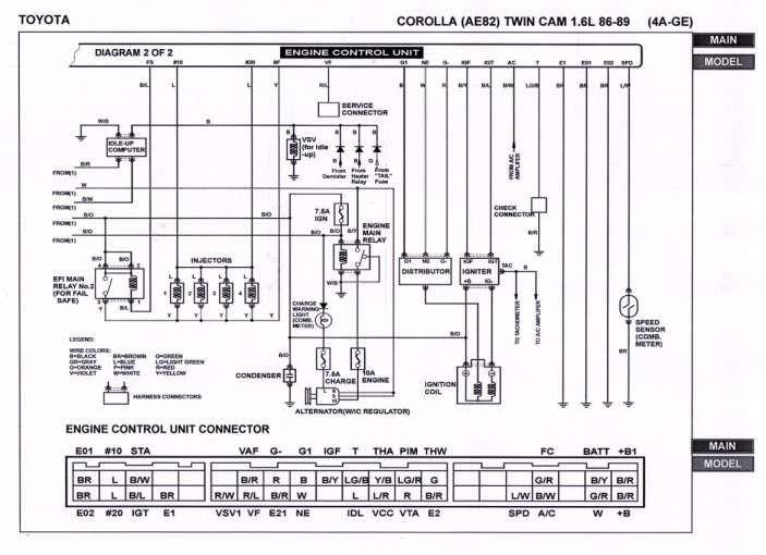 18 4age Engine Wiring Diagram Engine Diagram Wiringg Net