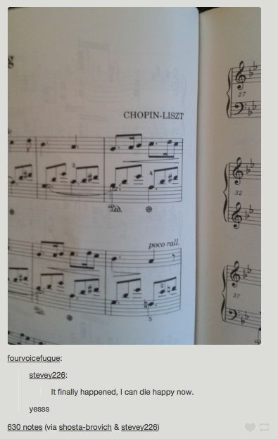 At last. | 27 Cringey Yet Wonderful Jokes Only Classical Music Nerds Will Understand
