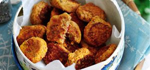 These delicious bite-size falafels are the ultimate family-friendly finger food. Perfect for packed lunches or picnics they're a terrific alternative to traditional (and high Syn) buffet bites.