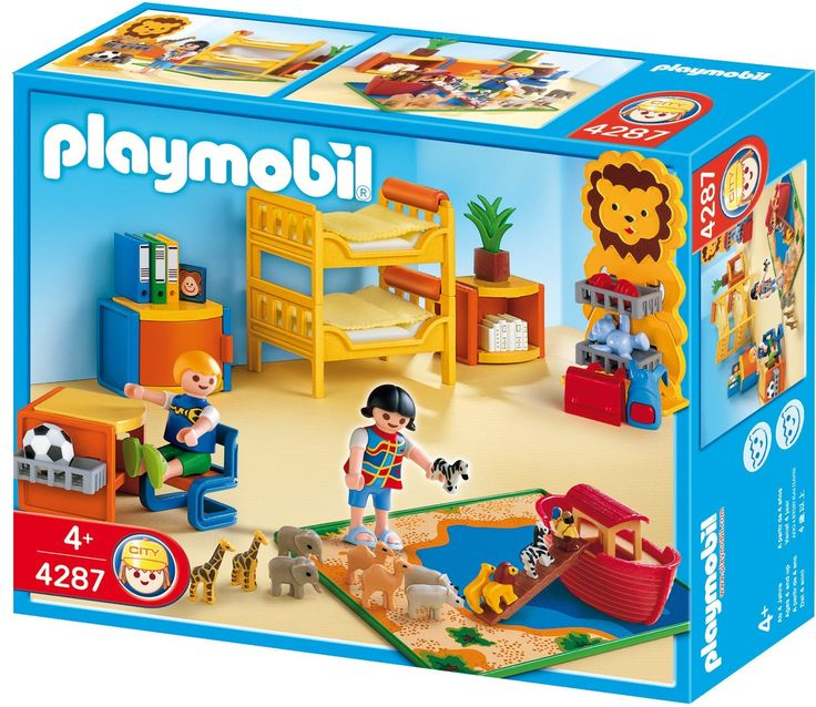 17 best images about maison de poup e playmobil et autre for Chambre playmobil
