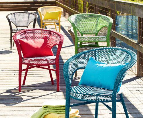 Shop Pier 1 Outdoor Furniture: San Martin Chairs.