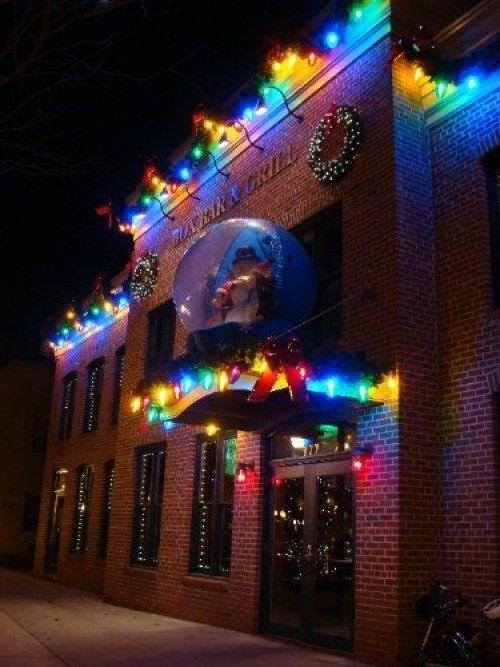 Giant Christmas Bulb Polymer Products Llc Globe String Light Set Six Multi Color Polymerproductsllc