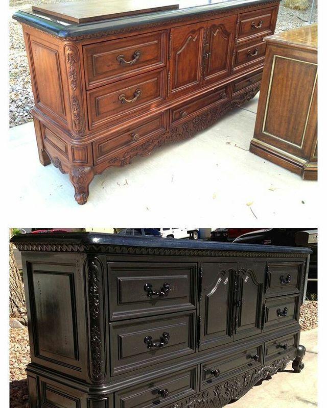 #black #furniture #diy