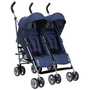 Carrinho para Gêmeos Burigotto Go Twin 5036 - Blue - Carrinhos para Bebês no Extra.com.br