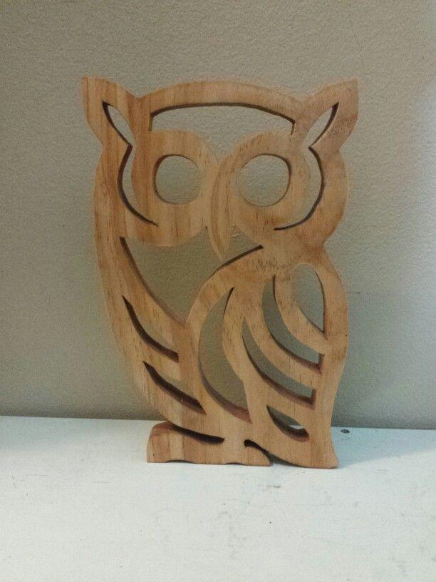 Scroll saw owl