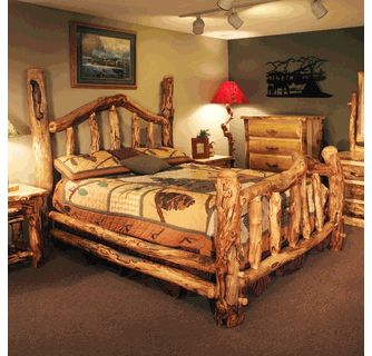 We Offer This Colorado Aspen Wild Grizzly Bed And Other Fine Aspen Log  Furniture. Browse Our Rustic Furniture Catalogs Now.