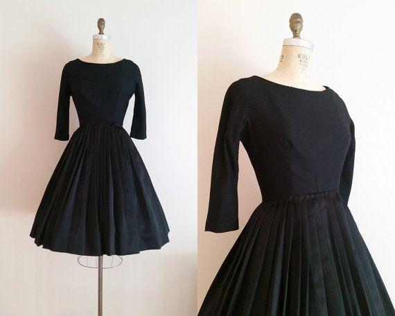 Vintage Black Cocktail Dresses