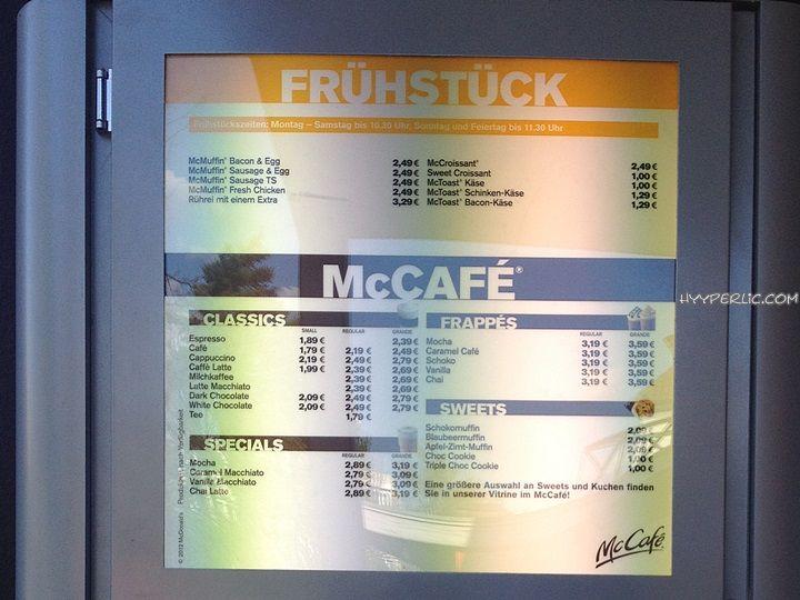Mc Donalds Frühstück Preise (komplette Preisliste) - HYYPERLIC