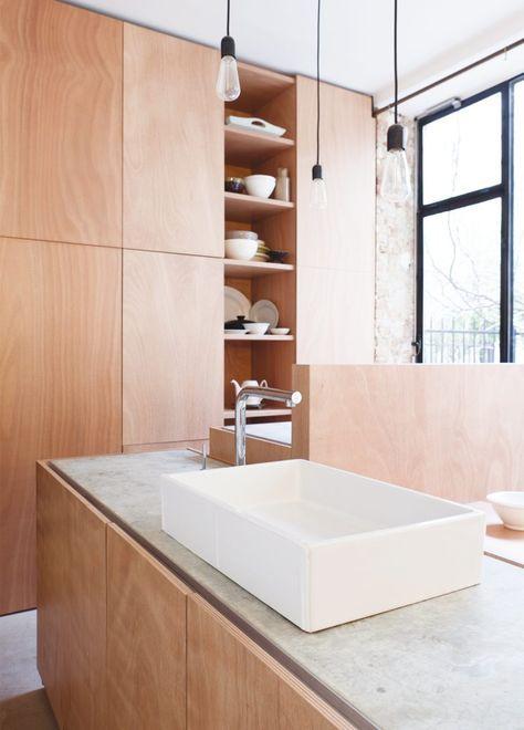 Die besten 25+ Sperrholz arbeitsplatte Ideen auf Pinterest - küchenarbeitsplatte buche massiv