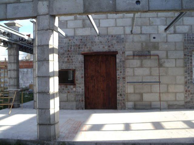 56 best images about casas de bloques on pinterest for Casas industrializadas