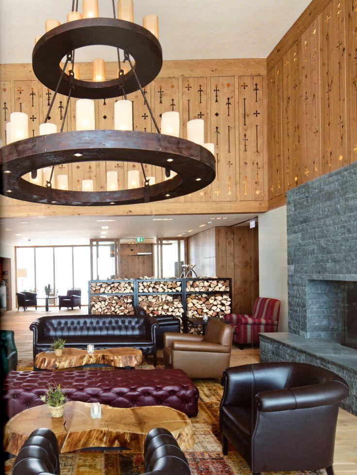 Bar_Hotel_Restaurant_ Frutt Lodge & Spa_in Melchsee-Frutt_Design by_Lussi+Halter, CH-Luzern & Architekturwerk, CH-Sarnen_Interior-Design_Matthias Buser, CH-Zürich_Photo by_Leonardo Finotti AIT_2012_06_page109