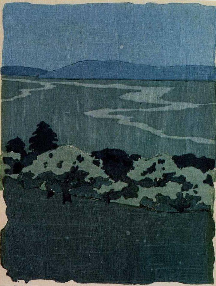 Arthur Wesley Dow, Woodcut, ca. 1905