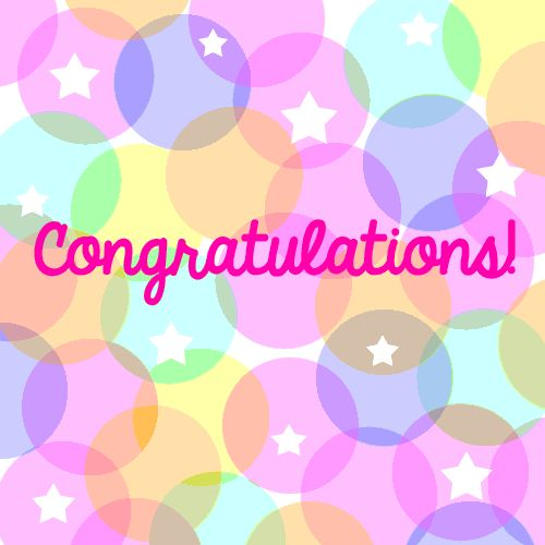 A bright & happy #congratulations #ecard perfect to be shared on any occassion. Just delivers your happiness for someone the right way & guess what its free to send.