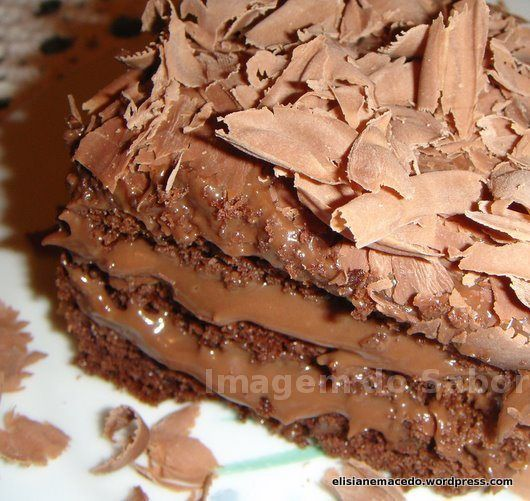 Bolo de Chocolate Recheado: Sea ​​Horse Cake, Minha Geladeira, Chocolate Cake, Chocolates Recheado, To Facilitate, Was Rosa-Choqa, Recipes, To Be, Bolo Recheado