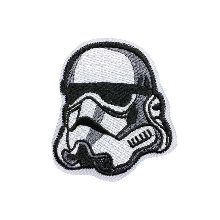 Star Wars Imperial Stormtrooper Patch Individuality Hat patches Embroidered Iron on sew on patches meet you on www.Fleckenworld.com