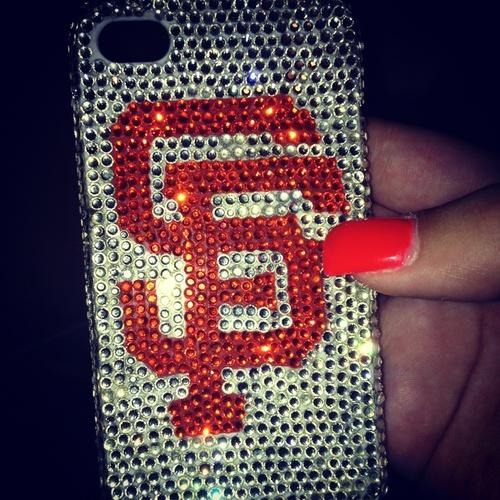 Giants baseball team phone case!