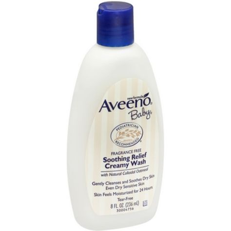 Aveeno Baby Fragrance Free Soothing Relief Creamy