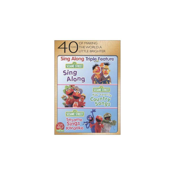 Sesame street:Sing along fun pack (Dvd)