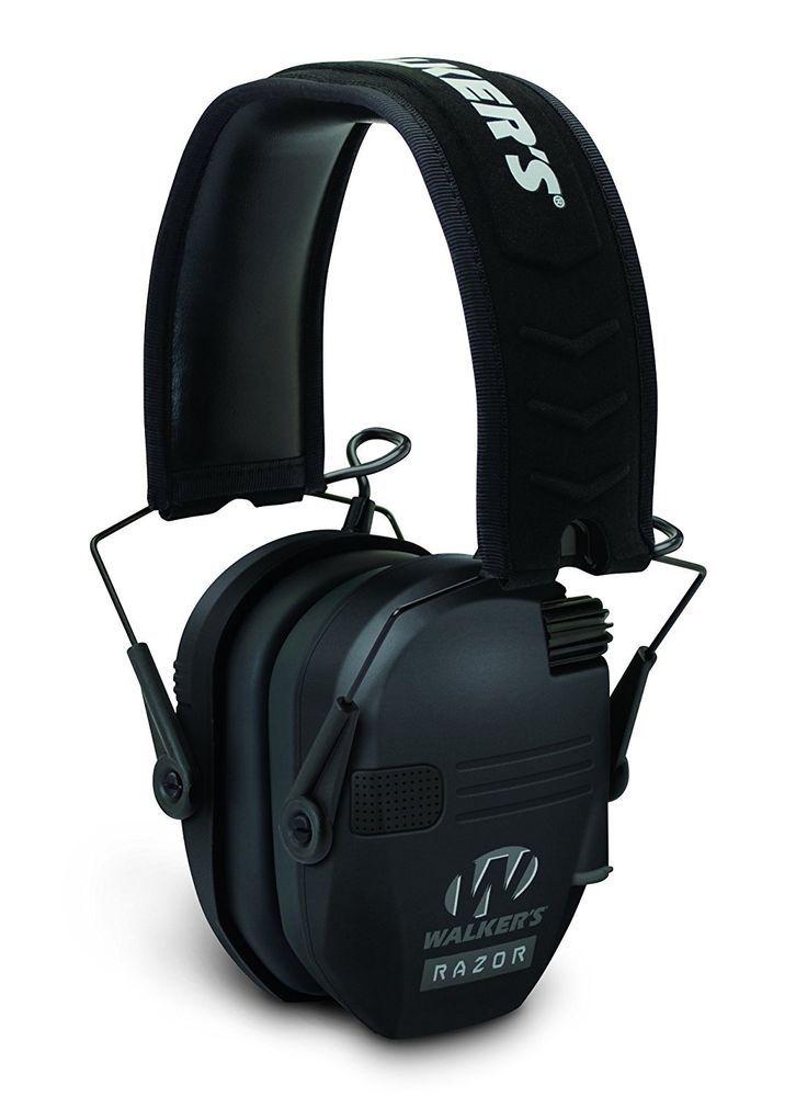 Shooting Range Razor Slim Electronic Ear Muff Noise Reduction Protection Target. #WalkersGameEar