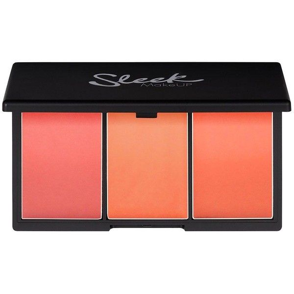 Sleek Blush By 3 found on Polyvore featuring beauty products, makeup, cheek makeup, blush and peach blush