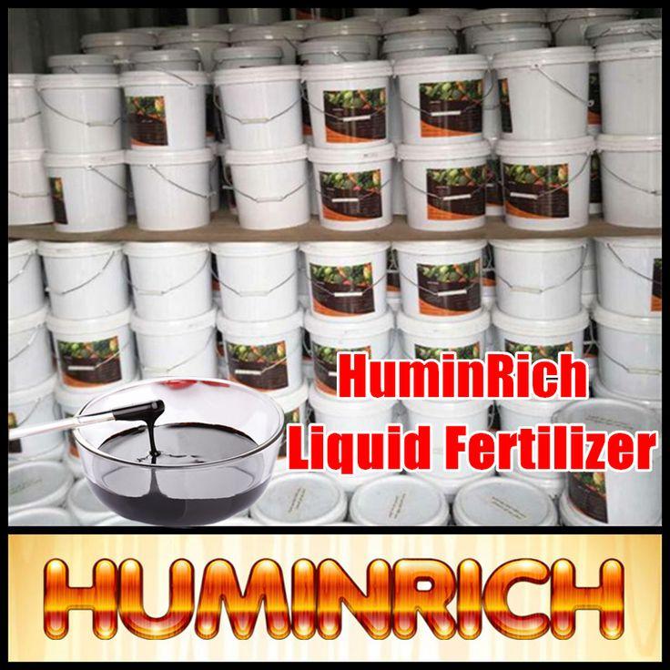 HuminRich Humic Potash Liquid Nitrogen Fertilizer