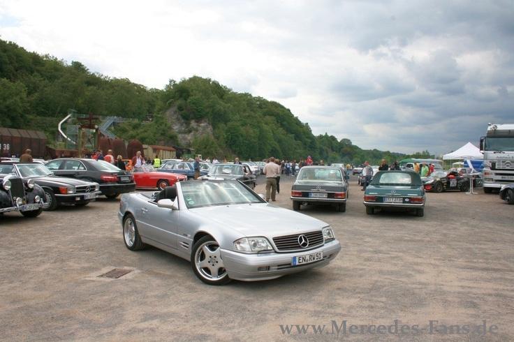 Fast 1000 Autos und rund 4.200 Zuschauer bei den SCHÖNEN STERNEN 2011 auf der #Henrichshütte #mercedes #treffen #events #schönesterne