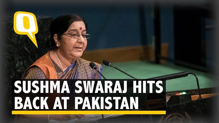 We Created Doctors, While Pak Produced Terrorists: Sushma at UNGA