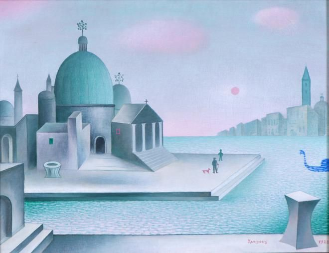 Jan Zrzavy - San Salvatore, 1928