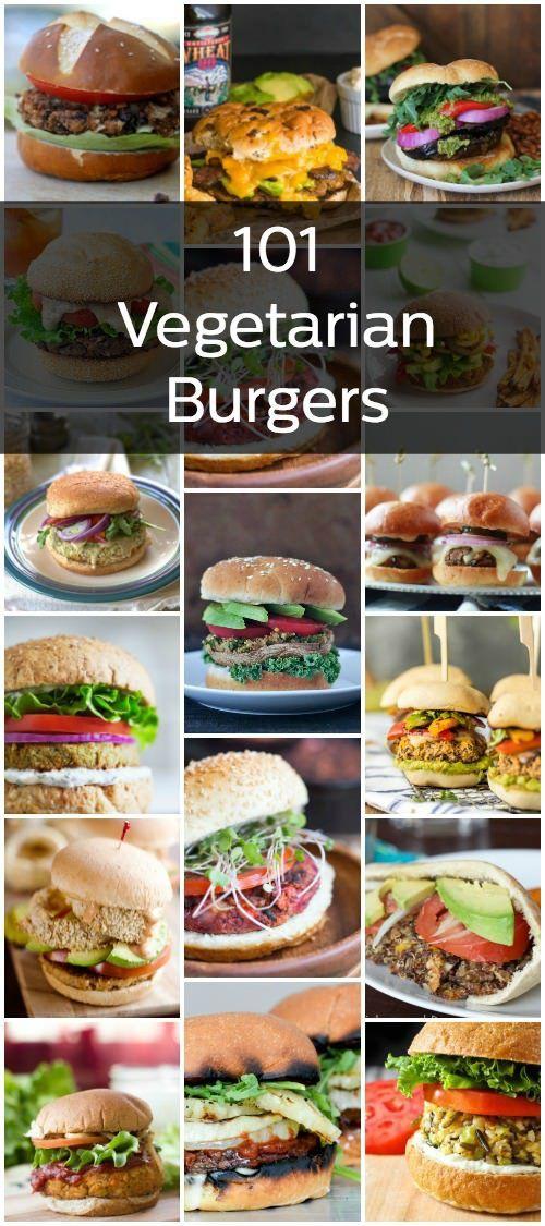 101 Vegetarian Burgers