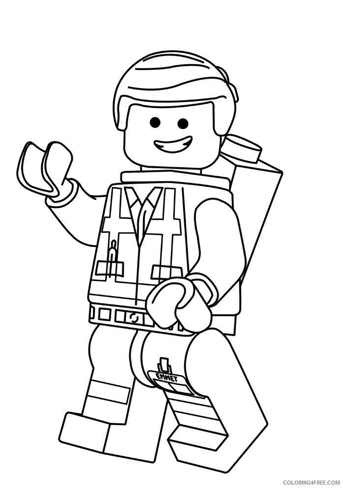 Google Image Result For Http Coloring4free Com Wp Content Uploads 2017 05 Lego Movie Coloring Pag In 2020 Lego Coloring Pages Lego Movie Coloring Pages Lego Coloring