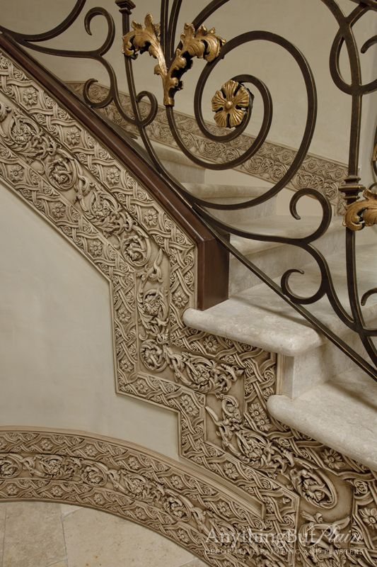 Mediterranean Staircase Photos Design, Pictures, Remodel, Decor And Ideas    Page 9