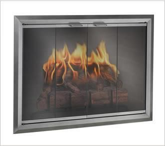 Glass Door comes in a variety of finishes and handle styles.