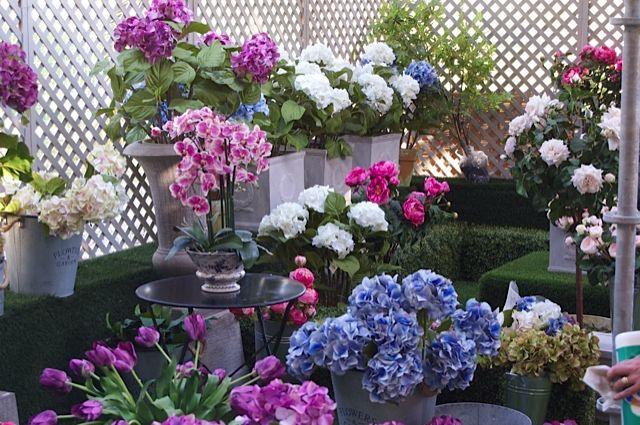 Todas nuestras flores artificiales en Jardinera 2014