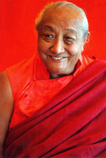 Marvel at your good fortune ~ Dilgo Khyentse Rinpoche http://justdharma.com/s/pictf  The Buddha has manifested in our world; he has turned the wheel of the teachings and these teachings have survived until now. You have received them from an authentic teacher and are ready to put them into practise. Rather than frittering your life away in futile pursuits, should you not marvel at your good fortune and concentrate all your efforts on doing just that, without losing so much as an instant?  –…
