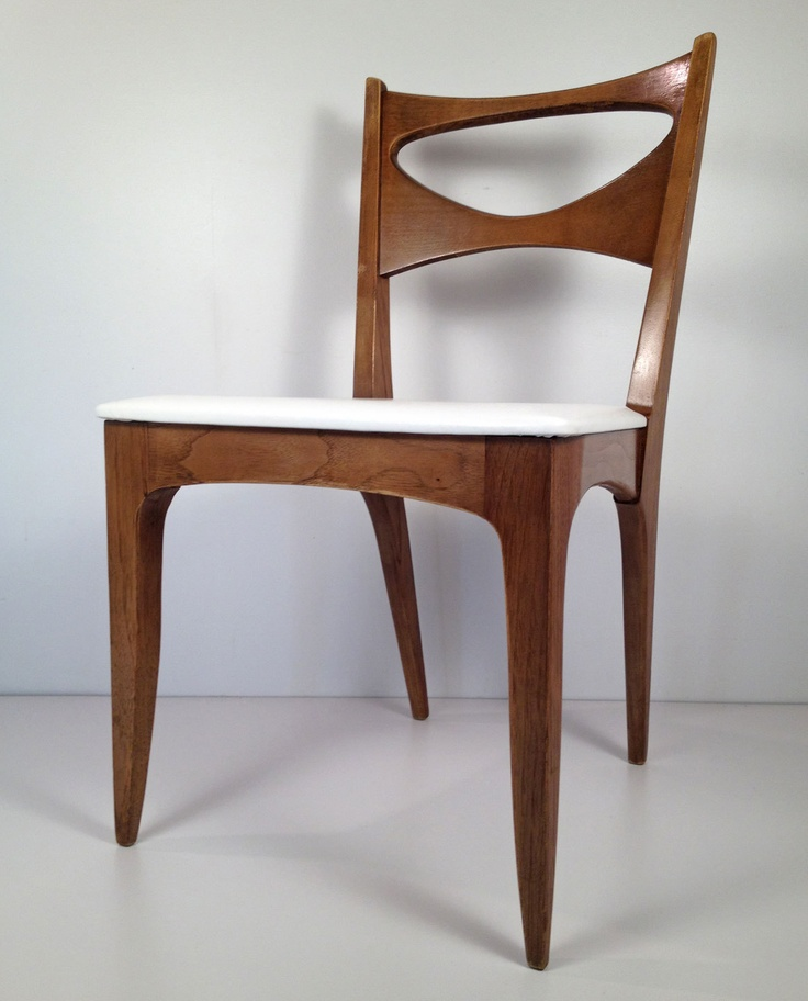 $49 EBAY Vintage Mid Century Modern Drexel Profile Dining Chair - Danish  Retro Eames Era
