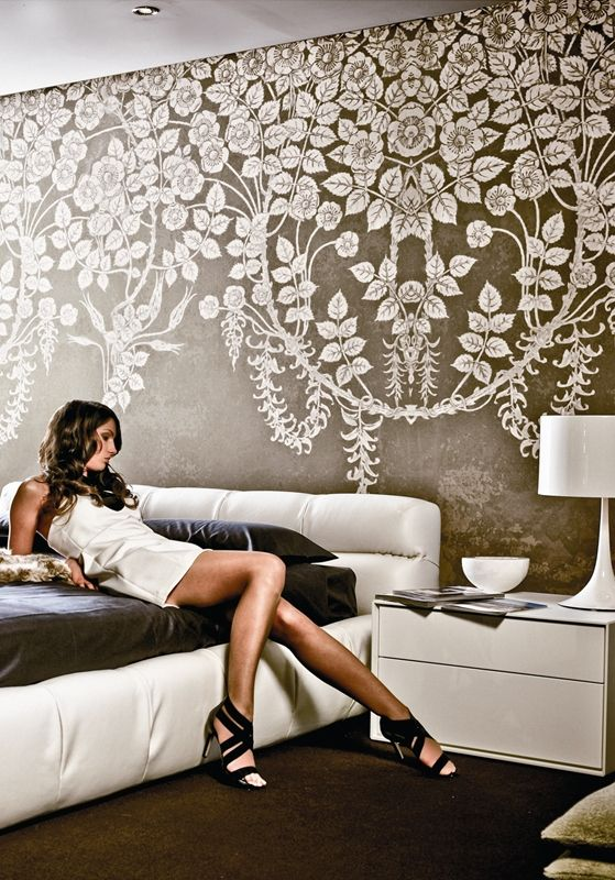 Contemporary Wallpaper Wall and Decò