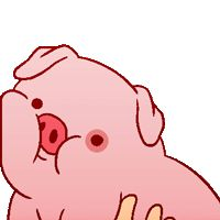 Gravity Falls Icon: Waddles by Mikeinel