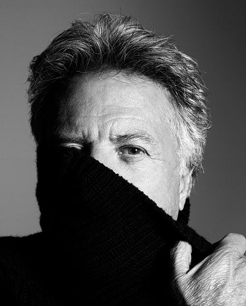♂ Black and white photography man portrait actor Dustin Hoffman