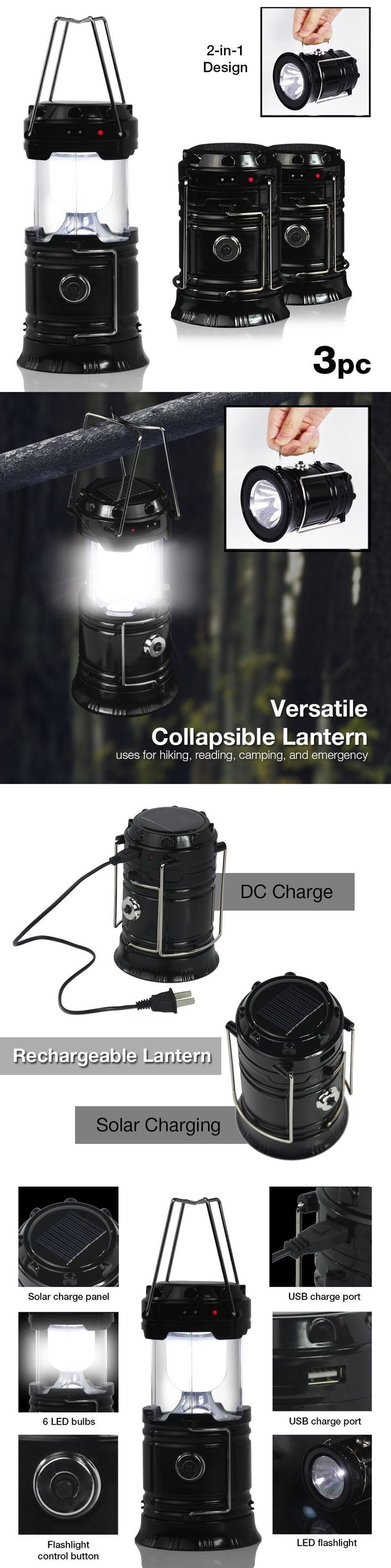 Lanterns 168867: Led Camping Lantern Portable Collapsible Hiking Night Light Lamp Outdoor Hiking -> BUY IT NOW ONLY: $40.75 on eBay!