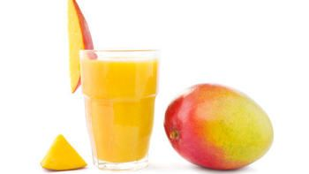 Low fat mango smoothie copy-cat of Panera recipe