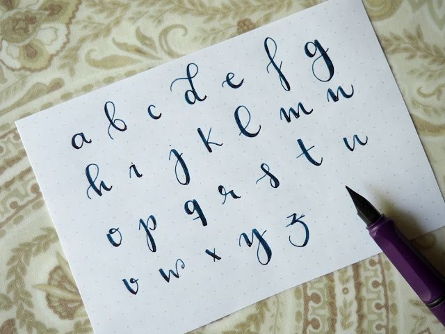Practiquemos Lettering!! Mis 3 estilos de letra más usados.