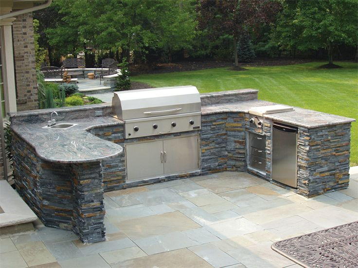 Custom Designed Outdoor Kitchen - we fabricate to your specifications...we'll even ship the grill and all the stainless if needed..we just need your backyard!