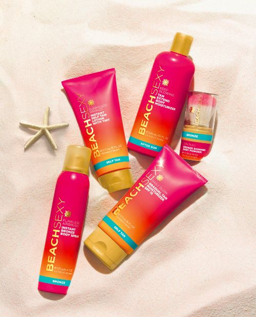 Love this tanning stuff from Victoria's Secret. It smells great, is easy to apply, I'm not orange, and it is cost friendly