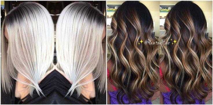 Выбери и покажи мастеру: 33 примера окрашивания для блондинок, брюнеток и рыжих