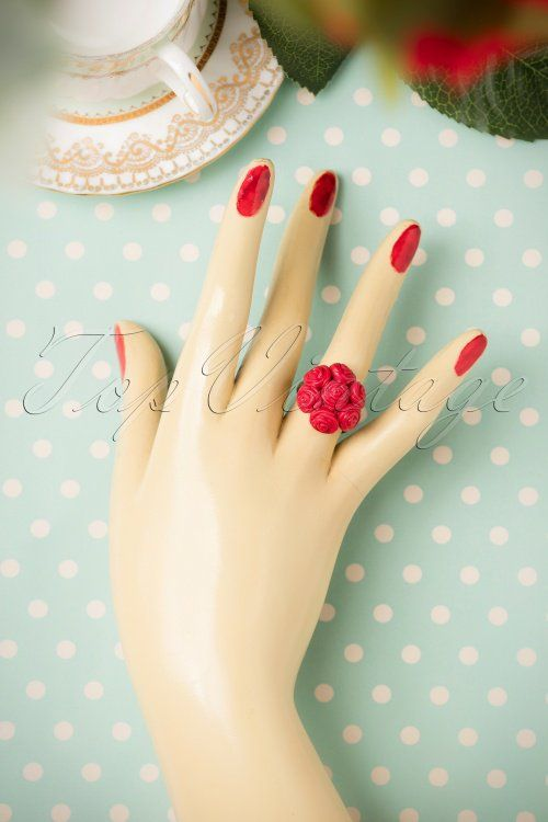 Sweet Cherry Red Roses Ring 321 20 19943 09262016 012W