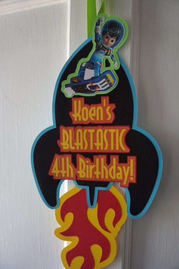 Miles from Tomorrowland Party Door Sign by ReallyRenata on Etsy