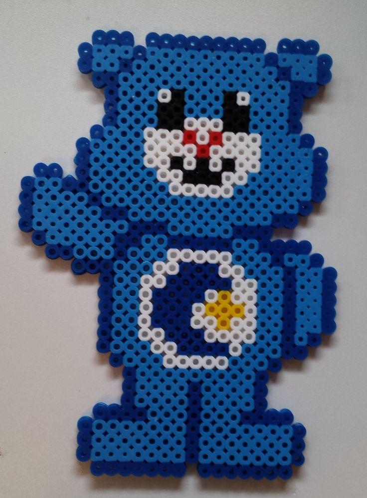 Bedtime Bear - Care Bears perler beads by Joanne Schiavoni