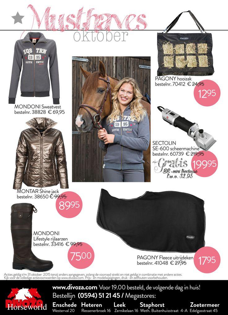 #oktober #divoza #musthaves #horseworld #equestrian